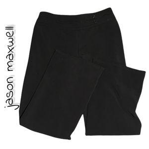 Jason Maxwell Petite Wide Leg Pants